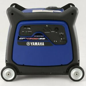 Yamaha Ef4500ise 4 500 Watt Electric Start Gas Power Portable Inverter Generator