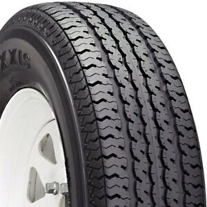 2 New St 225 75r15 Maxxis M 8008 Radial Trailer Tires 10 Ply 2257515 75 15 R15 E