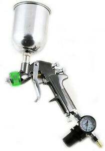 Hvlp Gravity Feed Air Spray Gun Paint 1 5mm Nozzle Size W 600cc Aluminum Cup
