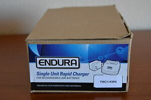 Kenwood Nexedge Single Unit Rapid Charger Endura Model Twc1 kw4