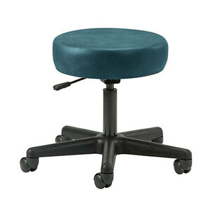 Ergonomic 5 leg Pneumatic Doctor Exam Stool Slate Blue