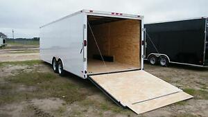 8 5x16 Enclosed Trailer Cargo V nose 18 Car Hauler Box 8 Motorcycle 2018 Call