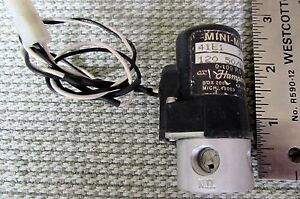 Humphrey Electric Pneumatic Solenoid Valve Mini myte 41e1 120vac