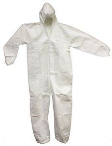 Tyvek Coverall With Hood X large