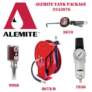 Alemite Bulk Oil Tank Package 343076