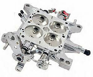 Carburetor Base Plate Aluminum 600 Cfm 1 9 16 Bore Mechanical Quick Fuel 12 600