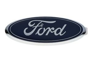 2010 2014 Ford F150 Tailgate Blue Ford Oval 9 Inch 3d Emblem Oem Aa8z 9942528 a