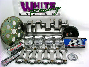 Bbc Chevy 496 Rotating Assy Forged Diamond Pistons h Beam Rods 1 Pc 30 Over
