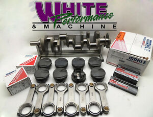 Bbc 496 Chevy Forged 4340 W Mahle Pistons Balanced Rotating Assy 2pc Rms 030
