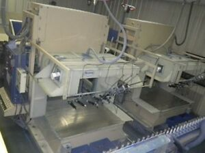 Nordson 500 Series Reclaim Powder Coating Booth customizing Available
