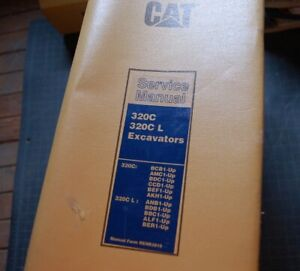 Cat Caterpillar 320c L Excavator Repair Shop Service Manual Trackhoe Crawler Oem
