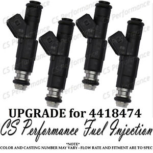 Bosch Upgrade Fuel Injector 4 Set For 84 88 Chrysler Dodge Plymouth 2 2 Turbo