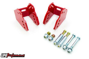 Umi Performance 78 88 Gm G body Bolt in Lower Control Arm Relocation Brackets