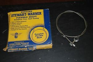 1953 Plymouth Speedometer Cable Assembly Nice Nos Original 211 48