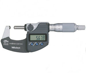 395 271 Tube Micrometers Range 0 25mm Accuracy 2 m