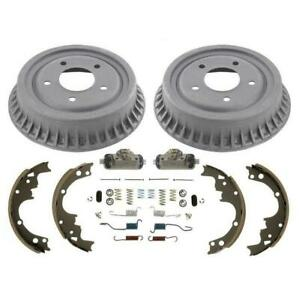 Rear Drums Brake Shoes Springs Wheel Cylinders For Chevrolet Astro Safari 90 02