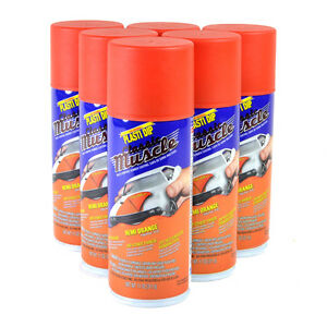Plasti Dip Hemi Orange Classic Muscle Car Color 11oz Spray Cans Full Case Of 6