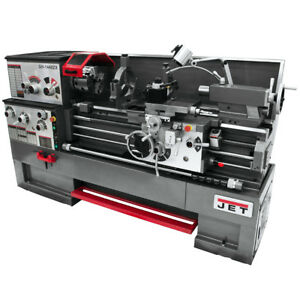 Jet Gh 1640zx Large Spindle Bore Lathe W Dp700 Taper Attachment