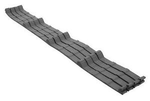 Ag Panel Die Cut Inner Closures Metal residential Roofing With Adhesive 100 Pcs