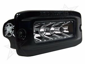 Rigid Industries Led Sr Q Series Pro Hybrid Spot Light Flush Mount Single