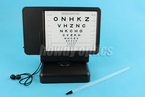 Letter Chart Low Contrast Ophthalmic Visual Acuity Near Vision Chart Tester