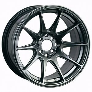 Xxr 527 16x8 25 4x100 4x114 3 0 Chromium Black Ae86 Xb Miata Civic Integra Eg