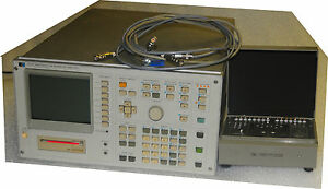 Agilent Hp 4145b Semiconductor Parameter Analyzer With 16058a And Cables