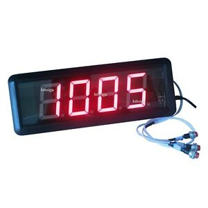 1 8 4digits Led Number Counter Countdown Count Up From 9999 To 0 Digital Timer