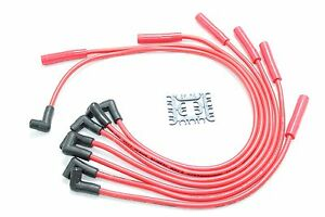 Maxx 539r 8 5mm Performance Spark Plug Wires 1992 2003 Dodge Mopar Truck 3 9l V6
