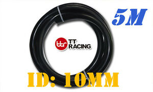 10mm 3 8 Silicone Vacuum Tube Hose Silicon Tubing Black 5 Meters 5m 15 5ft