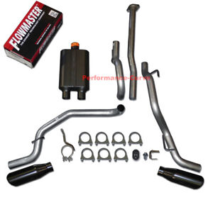 05 12 Toyota Tacoma Catback Dual Exhaust Side Exit Flowmaster Super 44