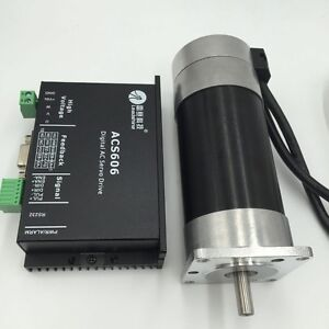 50w 0 16nm Brushless Dc Servo Motor Dirver Kit 24v 3000rpm 3m Encoder Cable Cnc