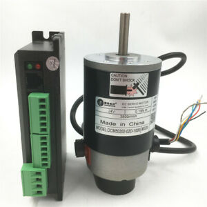 50w Dc Brushed Servo Motor 21oz in 18 80v Driver 3m Encoder Kit Leadshine
