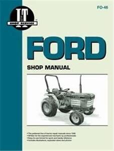 Ford 1120 1220 1320 1520 1720 1920 2120 Tractor Shop Manual Fo46