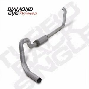 Diamond Eye 4 Turboback Exhaust System For 1999 2003 5 Ford F 550 7 3l