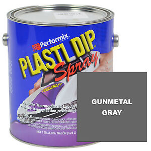 Plasti Dip Spray 1 Gallon Can Ready To Spray Matte Gunmetal Gray
