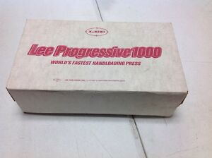 LEE Progressive 1000 Reloading Press W 10 mm Dies