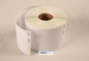 50 Rolls Of 400 Media badge Labels For Dymo Labelwriters 30324