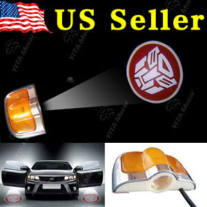 2x Car Welcome Door Led Laser Projector Logo Ghost Shadow Light Transformers Us