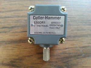 Cutler Hammer Rotary Switch Operating Head Part Number E50dr1