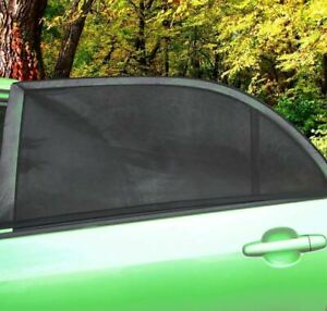Zone Tech 2x Car Side Window Sun Visor Shade Mesh Cover Shield Sunshade Protect