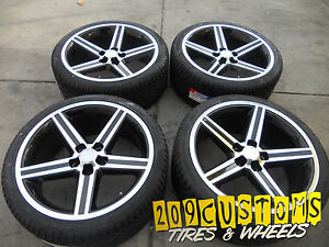 20 Black Iroc Wheels Tires Chevy Camaro 2010 2011 2012 2013 2014 2015