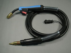 Htp 15 Mig Welding Gun Torch Replacement For Miller M15 M150 169593 249041 Mdx