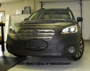 Lebra Front End Mask Cover Bra Fits 2015 2017 Subaru Outback W O Headlamp Washer