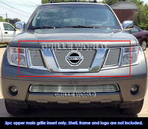 Fits 2005 2007 Nissan Frontier Pathfinder With Logo Show Cnc Perimeter Grille