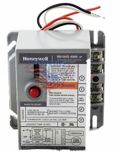 New Oem Honeywell R8184g4066 Oil Burner Control With 15 Second Safety Timing