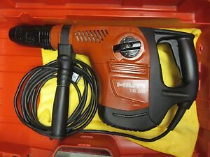 Hilti Te 50 Hammer Drill Great Condition Free Bits Chisels Fast Shipping