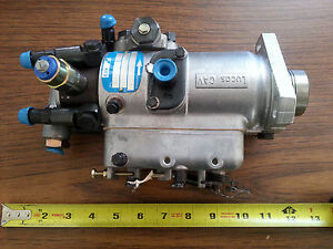 Lucas Cav Injection Pump Aau 2903 Model 12015flu