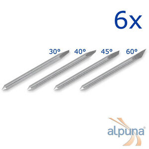 6 Plotters For Mimaki 30 Alpuna Quality Blades