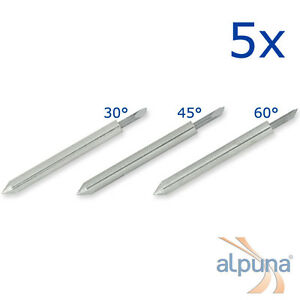 5 Plotters For Roland 30 Alpuna Quality Blades